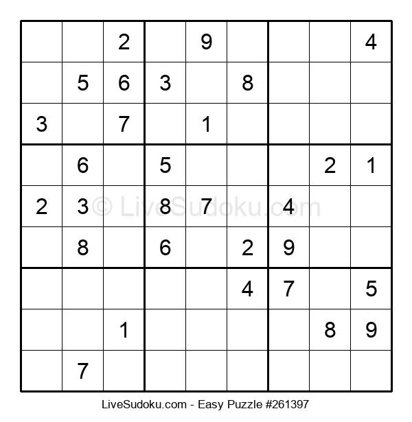 Beginners Puzzle #261397