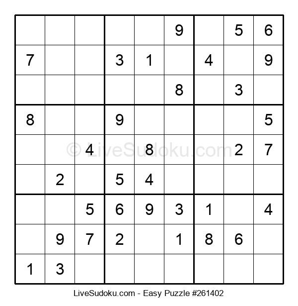 Beginners Puzzle #261402