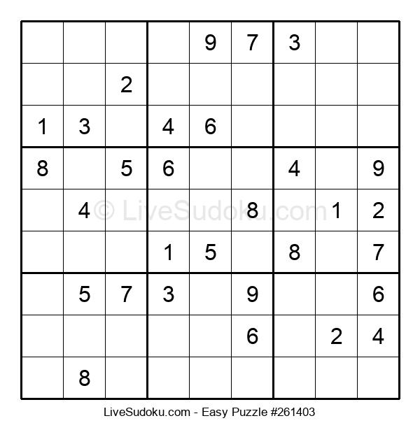 Beginners Puzzle #261403