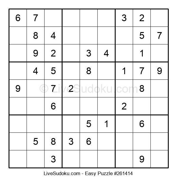 Beginners Puzzle #261414