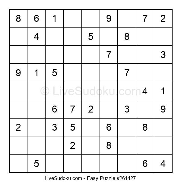 Beginners Puzzle #261427