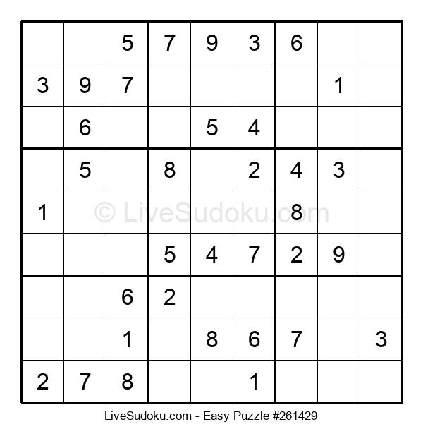 Beginners Puzzle #261429
