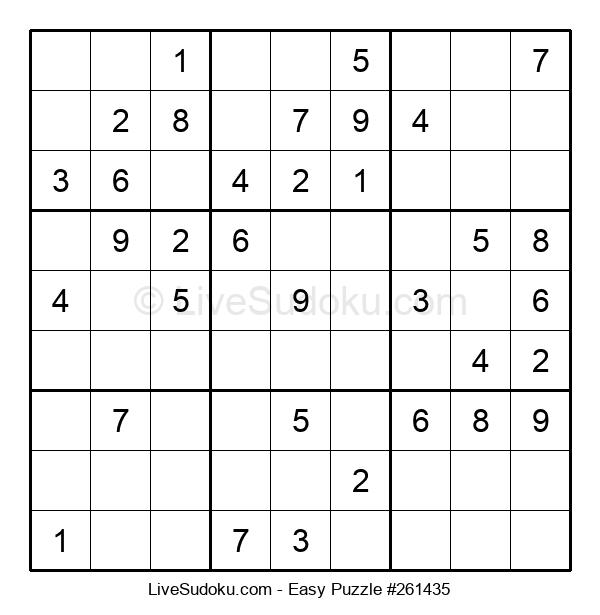 Beginners Puzzle #261435