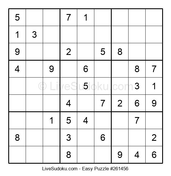 Beginners Puzzle #261456