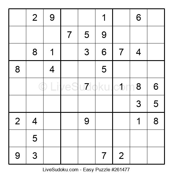 Beginners Puzzle #261477