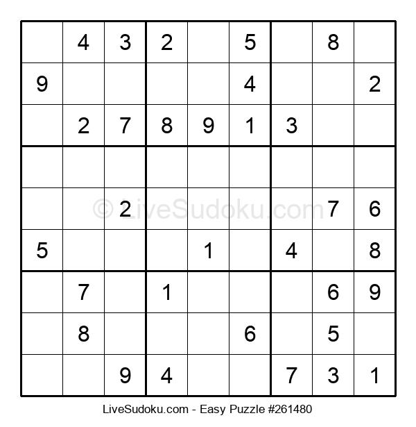 Beginners Puzzle #261480