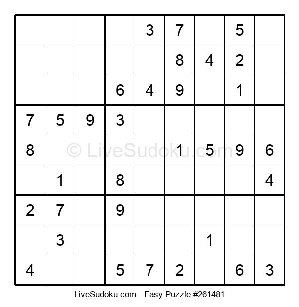Beginners Puzzle #261481