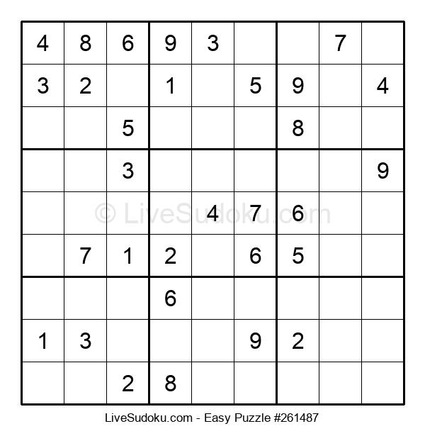 Beginners Puzzle #261487