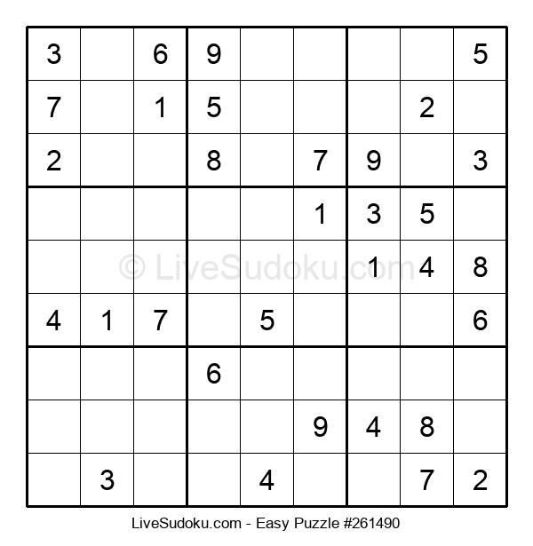 Beginners Puzzle #261490