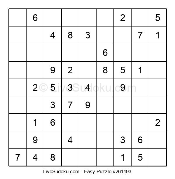 Beginners Puzzle #261493