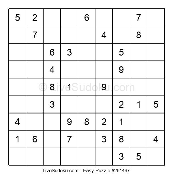 Beginners Puzzle #261497