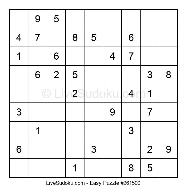 Beginners Puzzle #261500