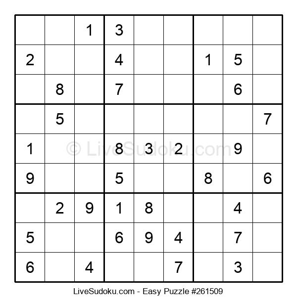 Beginners Puzzle #261509