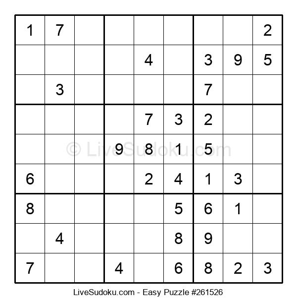 Beginners Puzzle #261526
