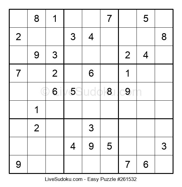 Beginners Puzzle #261532