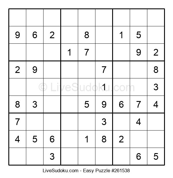 Beginners Puzzle #261538