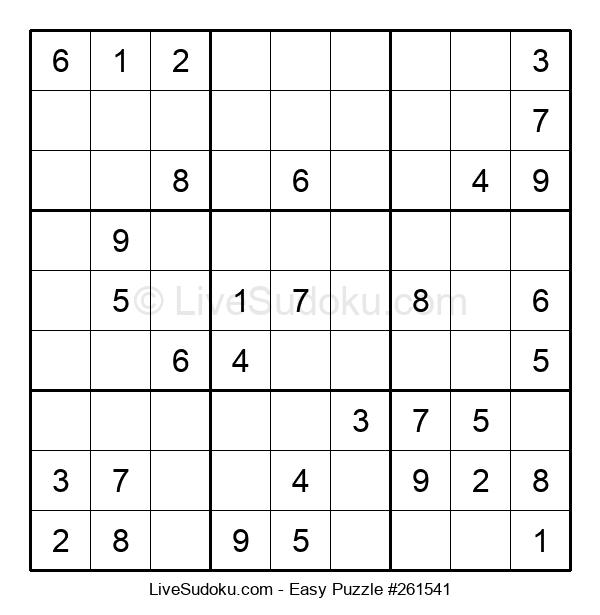 Beginners Puzzle #261541