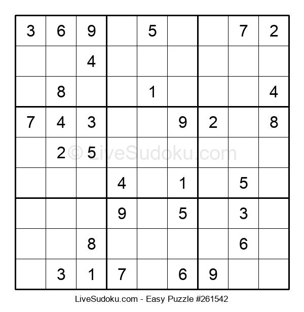 Beginners Puzzle #261542
