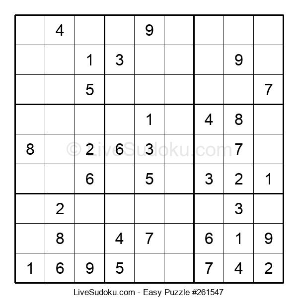 Beginners Puzzle #261547