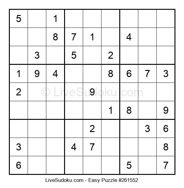 Beginners Puzzle #261552
