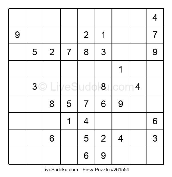 Beginners Puzzle #261554