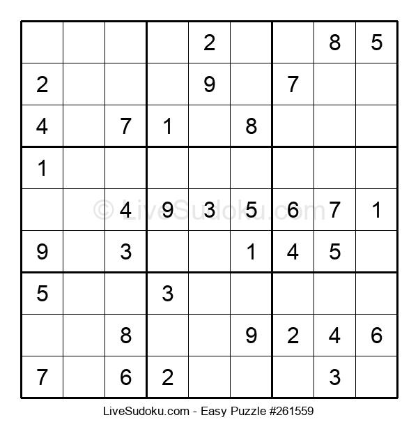 Beginners Puzzle #261559