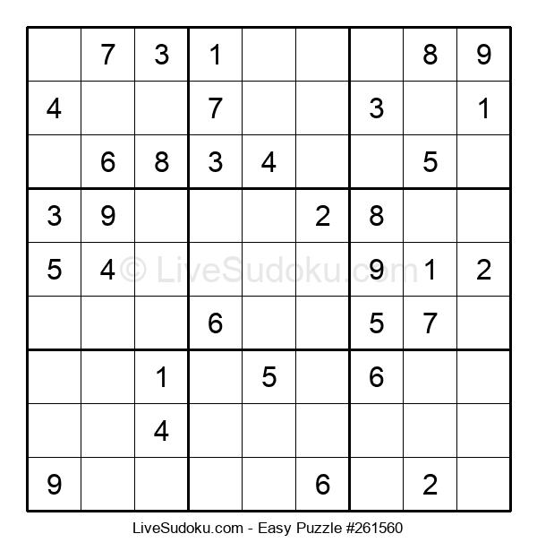 Beginners Puzzle #261560