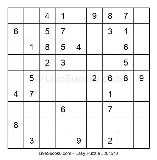Beginners Puzzle #261570