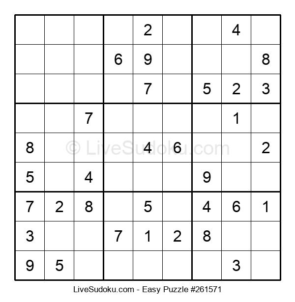 Beginners Puzzle #261571