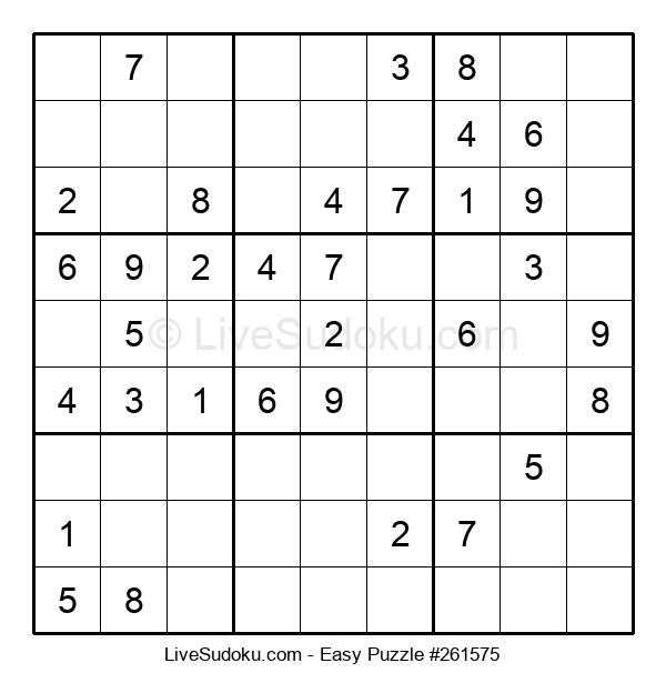 Beginners Puzzle #261575
