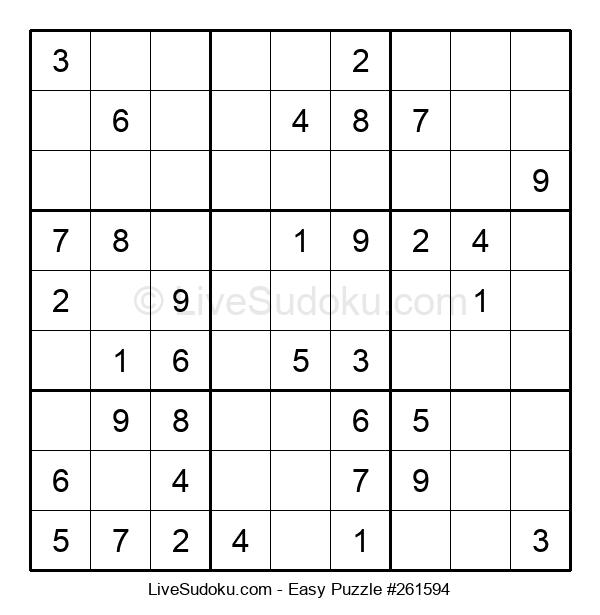 Beginners Puzzle #261594