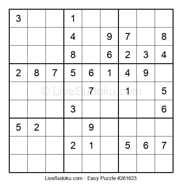 Beginners Puzzle #261623