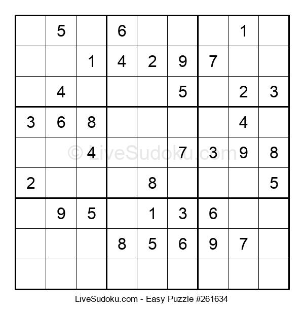 Beginners Puzzle #261634