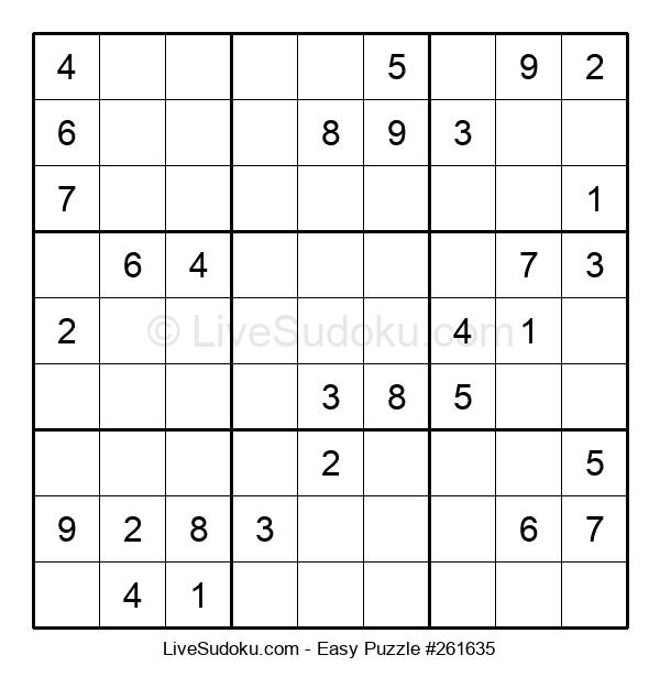 Beginners Puzzle #261635