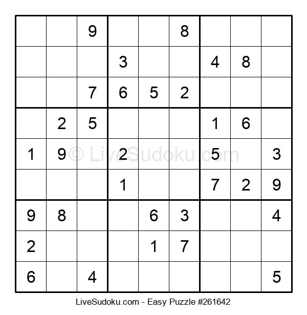 Beginners Puzzle #261642