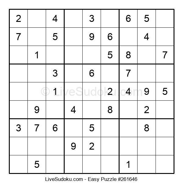 Beginners Puzzle #261646