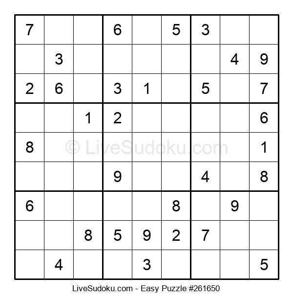 Beginners Puzzle #261650