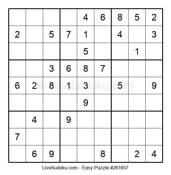 Beginners Puzzle #261657