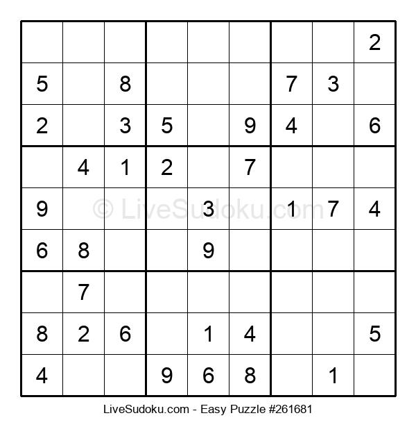 Beginners Puzzle #261681