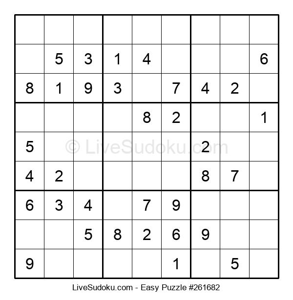 Beginners Puzzle #261682