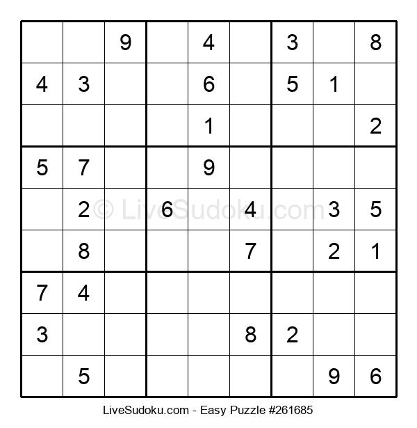 Beginners Puzzle #261685