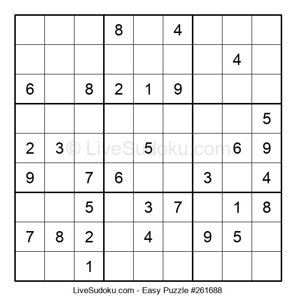 Beginners Puzzle #261688