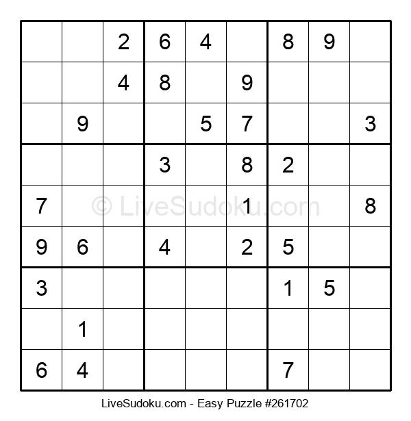 Beginners Puzzle #261702