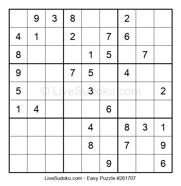 Beginners Puzzle #261707
