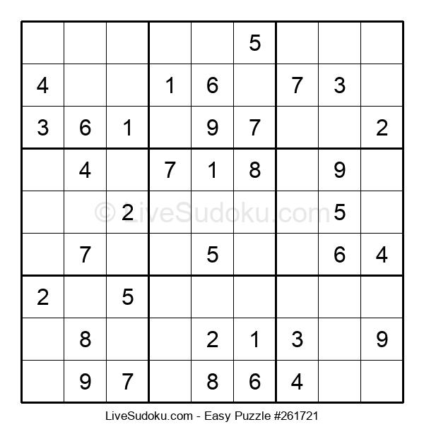 Beginners Puzzle #261721