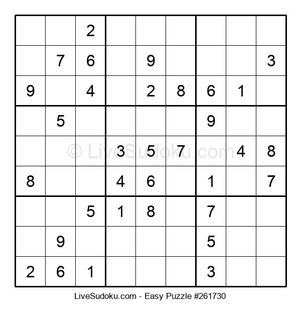 Beginners Puzzle #261730