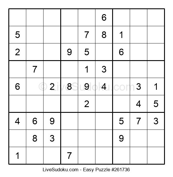 Beginners Puzzle #261736