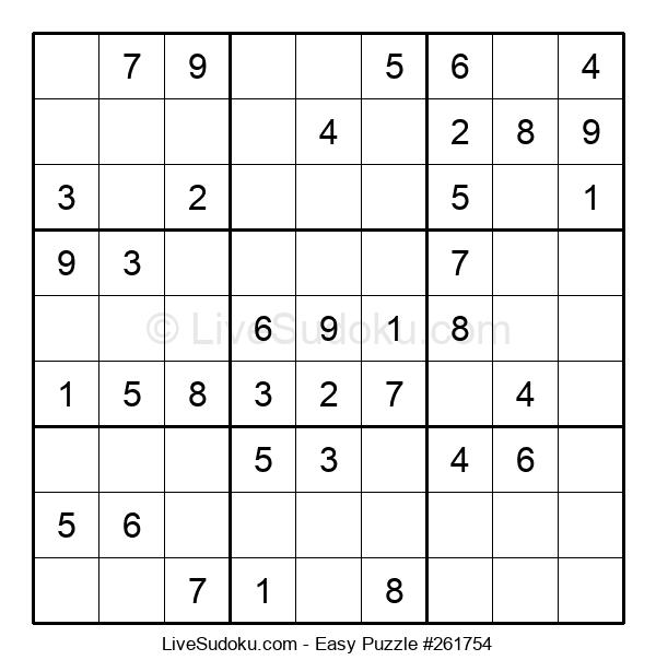 Beginners Puzzle #261754