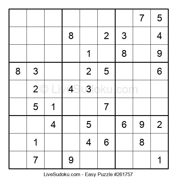 Beginners Puzzle #261757