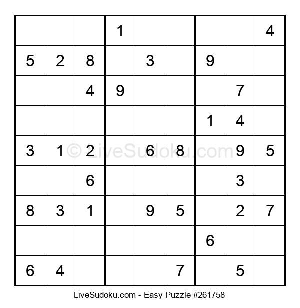 Beginners Puzzle #261758